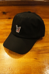 FUCT SSDD HORNED HAND CAP (BLACK)