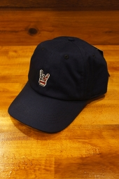 FUCT SSDD HORNED HAND CAP (NAVY)