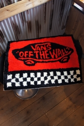 VANS SK8BOX JQD Welcome Rag Mat (BLACK)