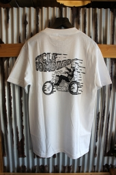 CYCLE ZOMBIES RIDE ON Standard S/S T-Shirt  (WHITE)