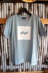 BANKS FLAG TEE SHIRT (GLACIER BLUE)