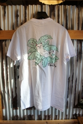 RIPNDIP NERMAL LEAF POCKET TEE (WHITE)