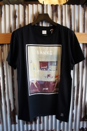 BANKS WORK SHOP TEE SHIRT (DIRTY BLACK)