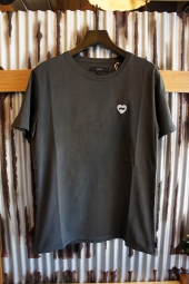 BANKS HEART TEE SHIRT (DIRTY BLACK)