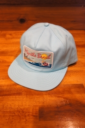 SKATE MENTAL MYRTLE BEACH CAP (CAROLINA BLUE)
