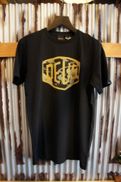 DEUS EX MACHINA ALOHA SHIELD TEE (BLACK)