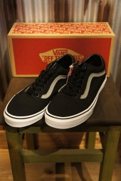 VANS OLD SKOOL (POP CANVAS) BLACK/WILD D