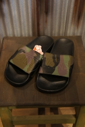 VANS SLIDE-ON (PEACE LEAF CAMO) BLACK