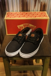 【LADY'S ITEM】 VANS CHIMA FERGUSON PRO (BRUSHED TWILL) BLACK