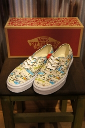 【LADY'S ITEM】 VANS AUTHENTIC (PALM SPRINGS) CLOUD CREAM/WHITE