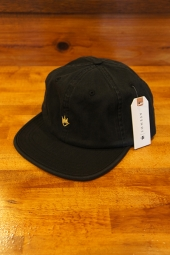AFENDS Flame Soft Brim 6 Panel Cap (Faded Black)