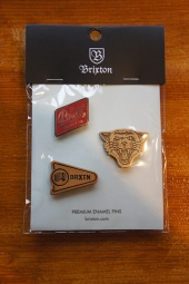 BRIXTON FURY PIN PACK
