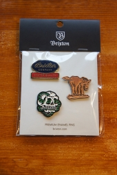BRIXTON ADIOS PIN PACK
