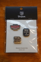 BRIXTON GRAIL PIN PACK