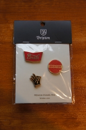BRIXTON OK PIN PACK