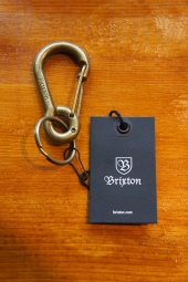 BRIXTON LATCH KEY CLIP (BRASS)