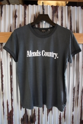 【LADY'S ITEM】 AFENDS Ac II Standard Fit Ringer Tee (Faded Black)