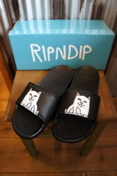 RIPNDIP LORD NERMAL SLIDES (BLACK)