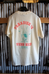 40s & Shorties Paradise Tee (Cream)