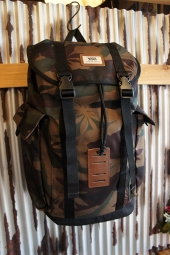 VANS OFF THE WALL BACKPACK (PEACE LEAF CAMO)
