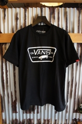 VANS FULL PATCH T-SHIRT (BLACK/WHITE)