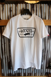 VANS FULL PATCH T-SHIRT (WHITE/BLACK)
