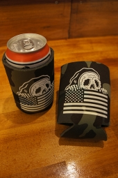 SKETCHY TANK STRIPES KOOZIE (CAMO)