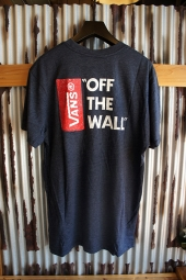 VANS OFF THE WALL III T-SHIRT (HEATHER NAVY)