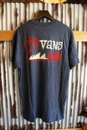 VANS YUSUKE CITYSCAPE T-SHIRT (HEATHER NAVY)