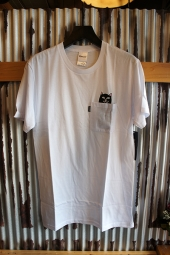 RIPNDIP LORD JERMAL POCKET TEE (WHITE)