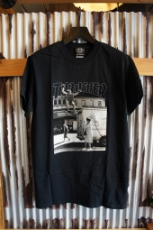 THRASHER MAGAZINE HACKETT S/S T-SHIRT (BLACK)