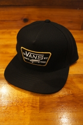 VANS FULL PATCH SNAPBACK (BLACK)