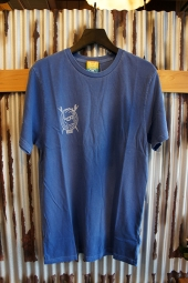 VANS × BROTHERS MARSHALL T-SHIRT (TRUE BLUE)