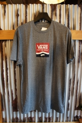 VANS SIDE STRIPE BOX T-SHIRT (HEATHER GRAY)