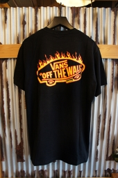 VANS × THRASHER POCKET T-SHIRT (BLACK)