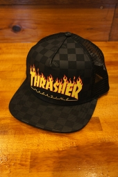 VANS × THRASHER TRUCKER HAT (BLACK)