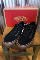 VANS OLD SKOOL PRO BLACK/GUM/GUM