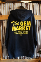 DIAMOND SUPPLY CO GEM MARKET HOODIE (NAVY)