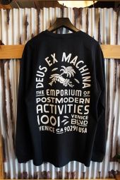 DEUS EX MACHINA POST MODERN LS TEE (BLACK)