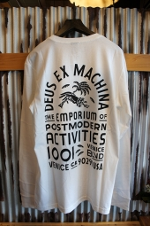 DEUS EX MACHINA POST MODERN LS TEE (WHITE)
