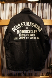 DEUS EX MACHINA Venice Coach (BLACK)