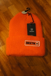 BRIXTON BALDWIN BEANIE (ORANGE)