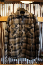 DEUS EX MACHINA MAXWELL PLAID OVERSHIRT (PINE PLAID)