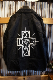 DIAMOND SUPPLY CO X DOGTOWN COACHES JACKET (BLACK)