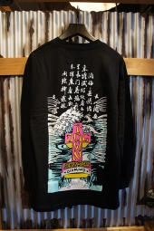 DIAMOND SUPPLY CO X DOGTOWN A. MURRAY LONGSLEEVE TEE (BLACK)