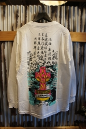 DIAMOND SUPPLY CO X DOGTOWN A. MURRAY LONGSLEEVE TEE (WHITE)