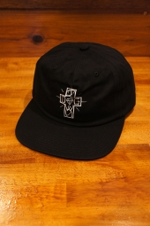 DIAMOND SUPPLY CO X DOGTOWN STRAPBACK CAP (BLACK)
