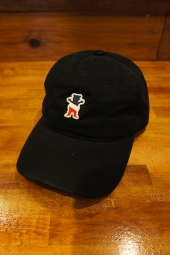 GRIZZLY × Champion LEADER OF THE PACK DAD HAT (BLACK)