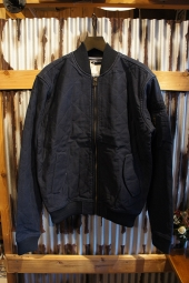 DEUS EX MACHINA ELIAS QUILTED BOMBER (NAVY)