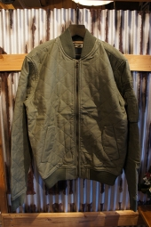 DEUS EX MACHINA ELIAS QUILTED BOMBER (GREEN)